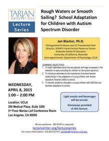 Blacher Lecture Flyer