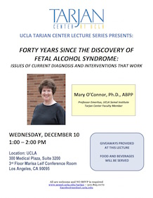 Oconnor Lecture Flyer